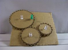 http://eHow.com -- Simple Machines Activity, making gears from cardboard