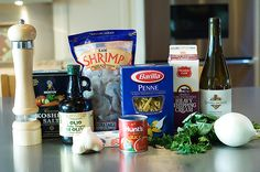 Penne a la Betsy!   The Pioneer Woman Cooks   Ree Drummond Great Recipes, Favorite Recipes, Yummy Recipes, Dinner Recipes, Yummy Food, Tomato Cream Sauces, Tomato Sauce, Pioneer Woman Recipes, Low Sodium Chicken Broth