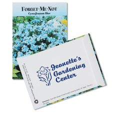 Auto, Home & Tools | Lawn & Garden | Standard Series Seed Packet - Forget Me Not (Item No. 105863-FMN) from only 15¢ ready to be imprinted by 4imprint Promotional Products