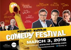 Stuff to do with your kids in Kitchener Waterloo: Kitchener Waterloo Comedy Festival Gala @ Centre In The Square - Enter To Win