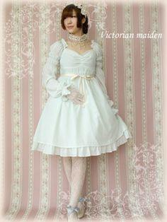 Fairy Frill Mini Dress, Victorian maiden