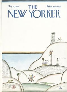 The New Yorker - Saturday, May 4, 1968 - Issue # 2255 - Vol. 44 - N° 11 - Cover by : Saul Steinberg