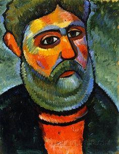 Alexej von Jawlensky, Russian Expressionist Painter (1864-1941)
