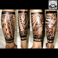 Maori black n grey tattoo perfect cimetric by : tattoo 89 kuta
