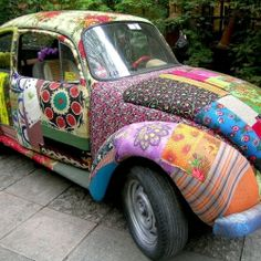 25 Brilliant & Unexpected Ways to Use Mod Podge, like on your favorite pair of shoes or car (via Mod Podge Rocks)