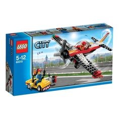 BARGAIN LEGO City Airport 60019: Stunt Plane NOW £6.12 at Amazon - Gratisfaction UK