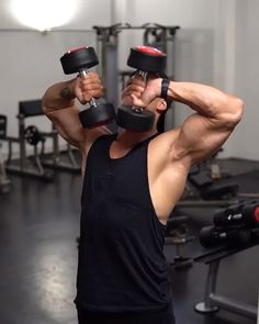 Arm Workout Men, Bicep And Tricep Workout, Gym Workouts For Men, Gym Workout Chart, Gym Workout Videos, Gym Workout For Beginners, Weight Training Workouts, Abs And Cardio Workout, Workout Without Gym
