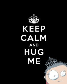 Keep calm and hug me by MissPixels
