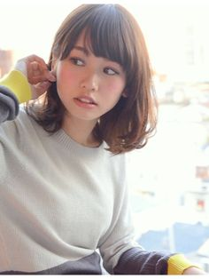【Grow】大沼圭吾  シースルーバング×ソフトパーマミディ2015