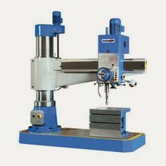 Drilling heads area unit mounted on arm likewise as are often captive right along length of arm through hand wheel. Drilling machine's head are often secured to any arrangement in conjunction with the arm. Drilling Machine, Dream Machine, Workshop, Arm, Sculpture, Tools, Business, Lighting System, Drill