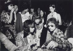 Keith Richards, Mick Jagger & Bob Dylan