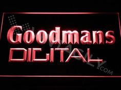 Goodmans Digital LED Sign