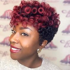 """475 Likes, 16 Comments - Curlkalon Hair® (@curlkalon) on Instagram: """"The lip + effortless curl duo color! We love @livepretty_pgp's 10"""" tapered cut with TTBG curls! """""""