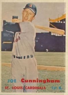 23 Best Baseball Cards 1957 St Louis Cardinals Images In