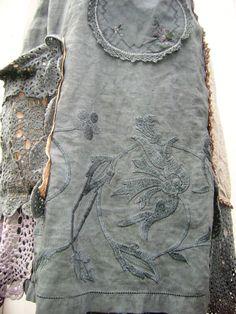 reserved to tia paris vintage moody grey dress,vintage slip dress embellished,lucyvnz,lucyv,new zealand