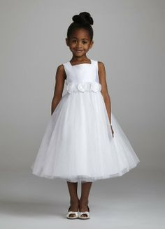 Tank Ballgown with 3D Floral Sash $59.99
