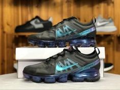 046645585e23 Nike Air VaporMax 2019 Black ASH   Jade AR6631-001 Men s Running Shoes   AR6631-001A