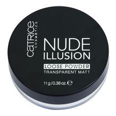 Pudra Nude Illusion de la Catrice - pudră pulbere transparentă mată