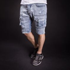 The product Cargo Short Mens Summer Fashion Jeans Denim Side Pocket Trouser Hot Pants 3146 Streetwear Denim Cargo Shorts is sold by SNEAKERJEANS STREETWEAR SHOP  Tictail lets you create a beautiful online store for free - tictail.com