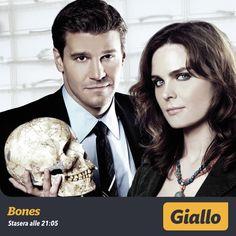 Bones, la serie tv che ha per protagonisti Brennan e Booth.