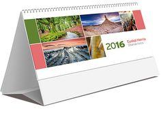 Calendario sobremesa Euskal Herria notas