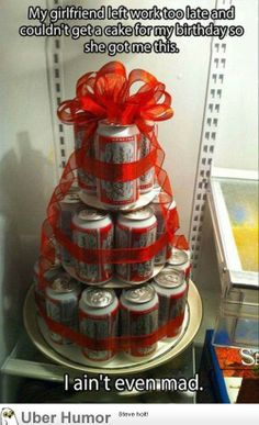 make with cokes for a secret santa gift