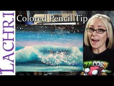 ▶ Artist vlog - Creating stars in colored pencil - art tips w/ Lachri - YouTube