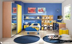Children Bedroom Tips With Paints - http://www.theikea.com/home-decorating-ideas/children-bedroom-tips-with-paints.html