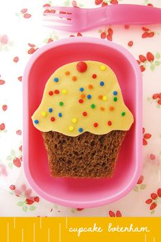 Cupcake toast--add cream cheese, sprinkles, and a cherry to crunchy bread! Cute Food, Good Food, Yummy Food, Slow Cooker Potato Soup, Boite A Lunch, How To Eat Better, Food Crafts, Food Humor, Healthy Fruits