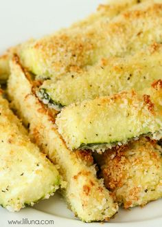Baked Crusted Zucchin Sticks - easy and delicious!