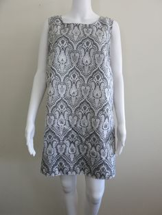 WHITE CLOSET Dress Size 14 Black Grey BUY 4 or more items for FREE POST #WhiteCloset #SpecialOccasion
