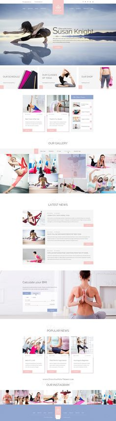 Sport Trainer is a universal #PSD template for boxing trainer, #yoga trainer, personal crossfit trainer and other sport related niche #websites. Download Now!