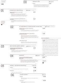 Editorial de 8 páginas + Tapa realizado para la materia Typografia 2, Longinotti. FADU UBA 2013.