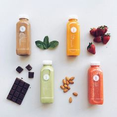 It's Friday and these are some of our and @brigadeirochoc favourite things // Which Pressed Juices are you loving right now? Positively Life Changing