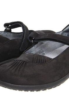 Naot Footwear Taramoa (Black Velvet Nubuck) Women's Maryjane Shoes - Naot Footwear, Taramoa, 11086-B12, Footwear Closed Maryjane, Maryjane, Closed Footwear, Footwear, Shoes, Gift, - Street Fashion And Style Ideas