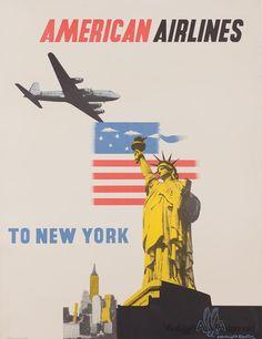 Vintage Airline Posters