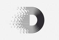 Discover more of the best Marks, Logos, and Logo inspiration on Designspiration Dj Logo, Typo Logo, Logo Stamp, Tableau Logo, Graphic Design Typography, Branding Design, Identity Branding, Typography Images, Logos Online