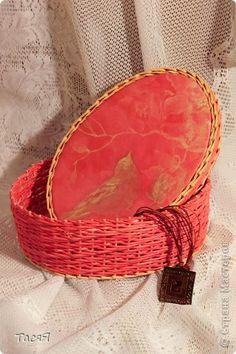 Поделка изделие Плетение Розовая эпопея  Продолжение -  Бумага фото 1
