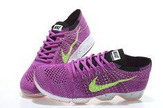 buy popular 62420 3834e Nike WMNS Flyknit Zoom Agility Court Purple Hyper Grape Fushcia Volt 698616  601