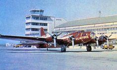 QB-17フライングフォートレス。アメリカが太平洋戦争中などに使用したB-17フライングフォートレス爆撃機のターゲットドローン版。電波の反射量などの問題で大型標的機が必要との判断によってB-17を改造した当機が誕生した。