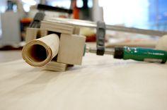 Silla PEPE por Helene Steiner, sistema estructural en base a tubos de chapa de madera | Catálogodiseño