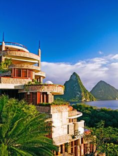 Jade Mountain Resort, St. Lucia Caribbean