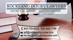Rockland Injury Lawyer's personal injury lawyers offer free consultations to injured accident victims. Let our personal injury lawyers help you. Personal Injury Claims, Personal Injury Lawyer, Back Injury, Head Injury, Accident Attorney, Injury Attorney, Spring Valley, Slip And Fall, Medical Billing