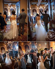 Jenny & Dane, The Jonathan Club Wedding, Los Angeles Wedding Photographer www.BandGphotography.com