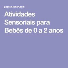Atividades Sensoriais para Bebês de 0 a 2 anos