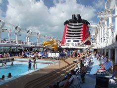 Disney Fantasy visited on her pre-inaugural launch in April 2012