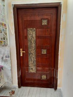 House Main Door Design, Wooden Main Door Design, Front Door Design, House Design, Modern Exterior Doors, Room Doors, Entrance Doors, Ceiling Design, Wooden Doors