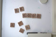 DIY Magnetic Letters for Big Kids