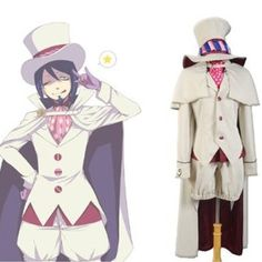 Onecos Blue Exorcist Ao No Exorcist Mephisto Pheles Cosplay Costume -- Check this awesome product by going to the link at the image.