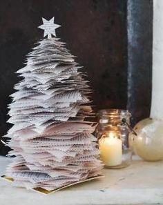 χριστουγεννιατικα στεφανια με εφημεριδες - Αναζήτηση Google